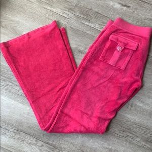 Juicy Couture Terry Cloth Pants.
